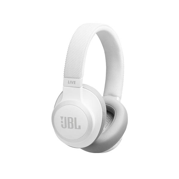 JBL Live 650BTNC ANC Bluetooth Earphones White