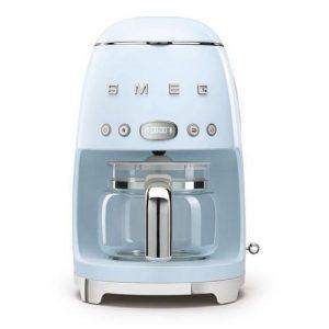 SMEG Filtre Kahve Makinesi DCFO2PBEU – Pastel Mavi